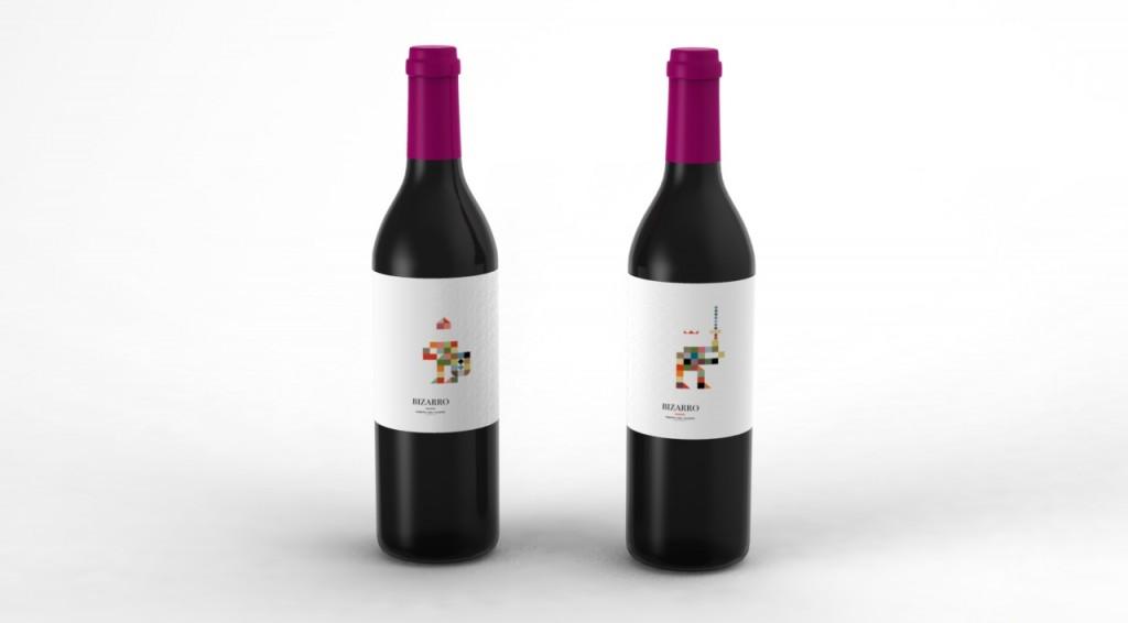 3D wine bottle 02